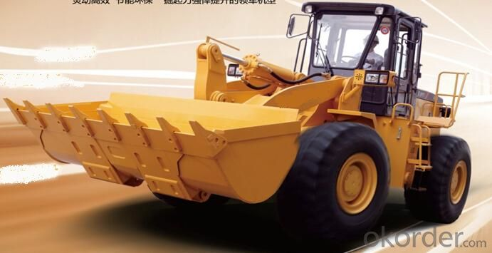 Wheel loader with bucket capacity  of  2.4 m3 model number LW300VF