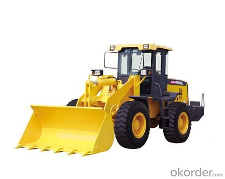 Wheel loader with bucket capacity  of 3.5 m3