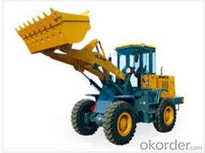 Wheel loader with bucket capacity  of 1.7 m3