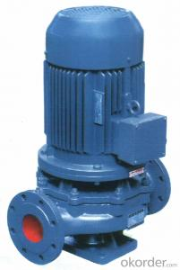 Vertical Pipeline Centrifugal Pump ISG Series