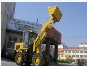 Wheel mini loader with bucket capacity  of 0.8m3