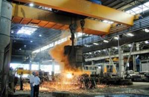 Steel Plant Use Hot Environment Charging Crane