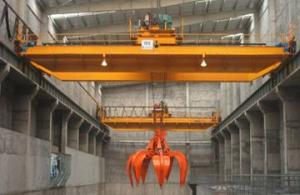 CE GOST SGS Certificated Steel Plant Use Scrap Grab Overhead Crane