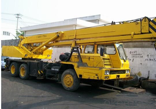 Telescopic Truck  Straight arm  crane with 8T