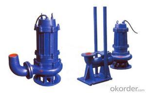 Submersible Sewage Submersible Pump WQ Series