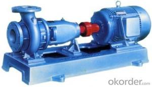 End-Suction Single Stage Centrifugal Pump