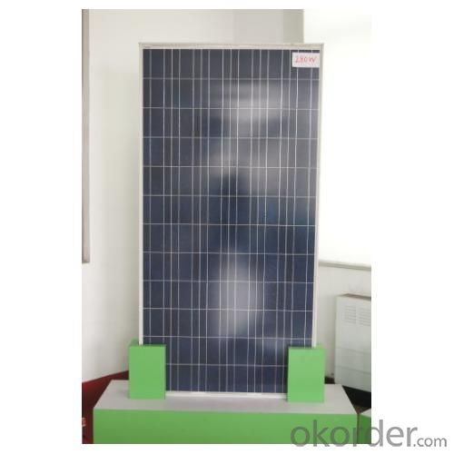 Polycrystalline Solar Panels for 25kw Rooftop Systems Made in China