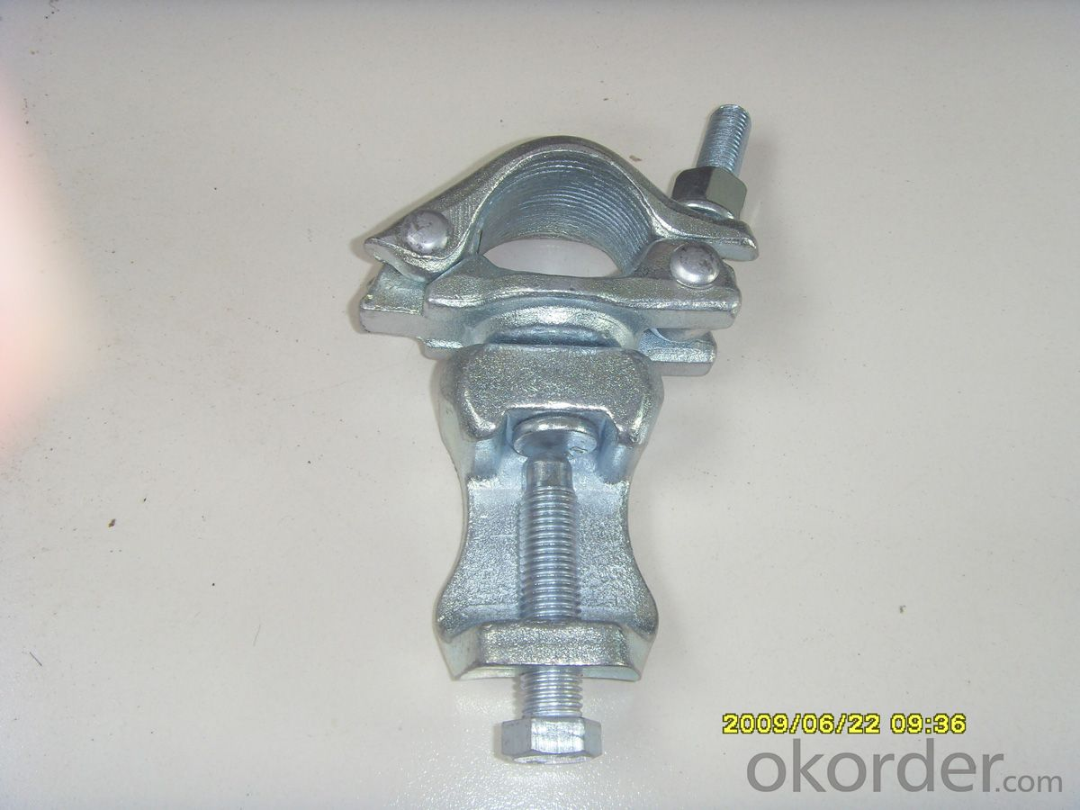 Scaffolding  forged swivel  Beam coupler