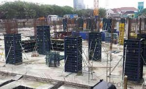 Steel Frame Easy Connection Formwork with Adjustable Steel Clamp
