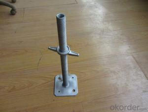Galvanized Adjustable 38mm Hollow Screw Jack
