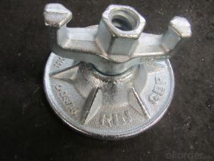 Steel Galvanized Scaffolding  Forged Formwork Nut