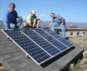 250watt Crystalline Solar Panels for 10kw Rooftop Systems