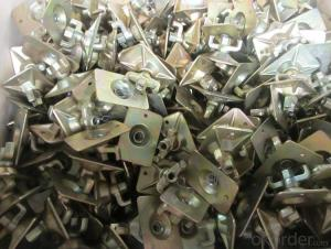 Forged Formwork Nut with Square Plate