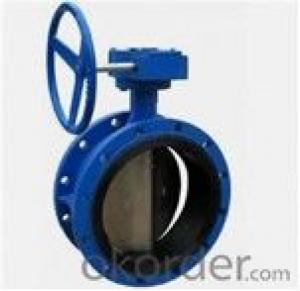 Butterfly Valve Worm Gear Actuated Flange Triple Eccentric