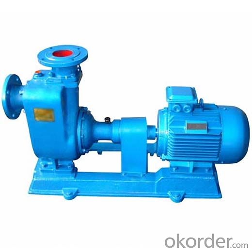 Self Priming Easy Suction Non Clog Sewage Pump