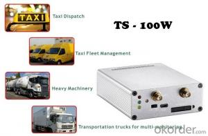Multi-functional 3G/WCDMA Vehicle GPS Tracker TS-100W with door lock/unlock remotely for car/fleet