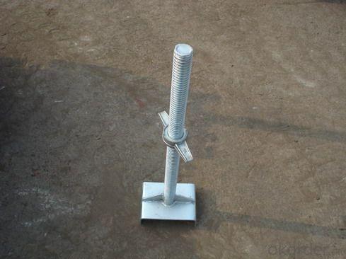 scaffolding jack base