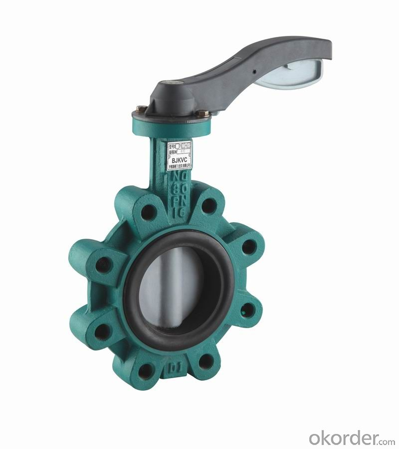 Butterfly Valve Made in China on Sale Gear Actuated Flange Triple Eccentric