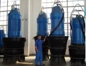 Submersible Axial/Mixed Flow Pump QZ Series
