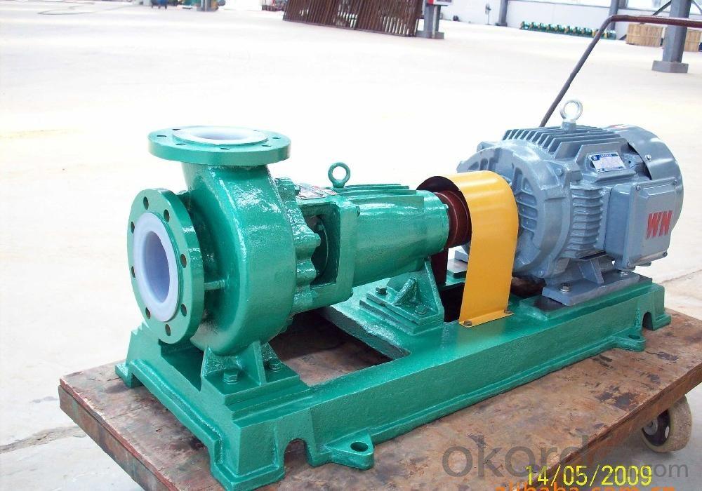 Fluoroplastic Anticorrosion Chemical Pump (FSB)