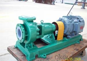 Fluoroplastic Anticorrosion Chemical Pump (FSB)