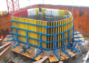 Timer Beam Formwork with An Attached Frame Height 2500mm
