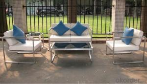 Funiture Outdoor Dining Sets with Cursion