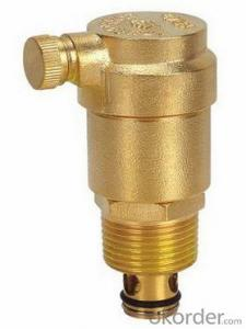Air Evacuation Valve with Solar Water Heater Exhaust Valves  of Solar Water Heater Parts