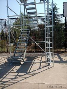 Galvanized Standard of Ringlock Scaffolding System