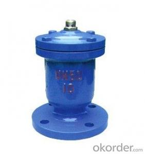 Air Evacuation Valve with Solar Water Heater Exhaust Valves on Sale
