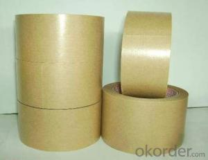 Kraft Paper Tape of Brown Color in Shrinked Tower