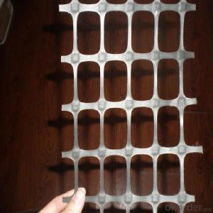 Plastic Biaxial Geogrid with CE Certificate  for Construction