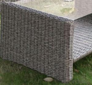 Outdoor Furniture Leisure Garden PE Rattan Garden Sofas