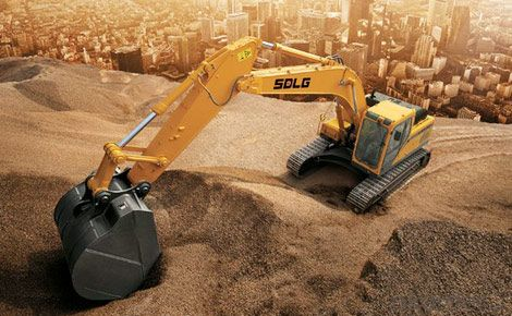SDLG Brand Crawler Type Hydraulic Excavator LG6235E