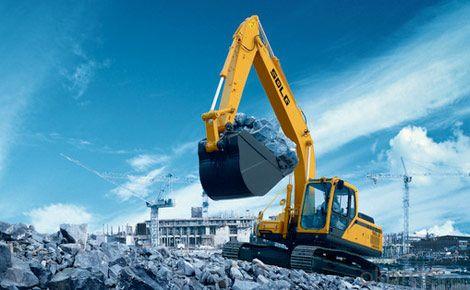 SDLG Brand Crawler Type Hydraulic Excavator LG6225E