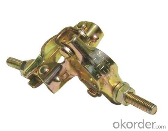 Scaffolding ressed double Coupler