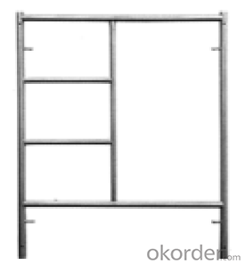 Frame-Connected High Qulity and Convenient Scaffolding
