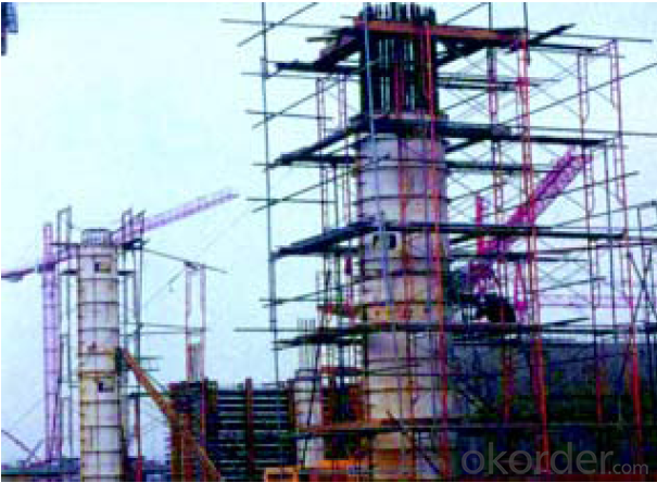 Frame-Connected  Scaffolding of Massive Power and Resouce Saving