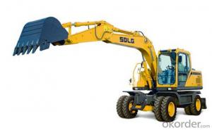 SDLG Brand Wheel Type Hydraulic Excavator LGW6150E