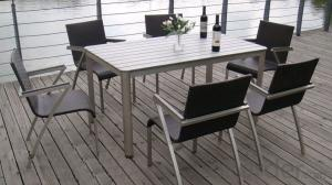 Textilene Outdoor Furniture Chair and Table Set