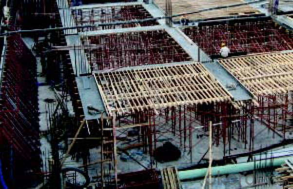 Frame-Connected  Adjustable and Safety Scaffolding