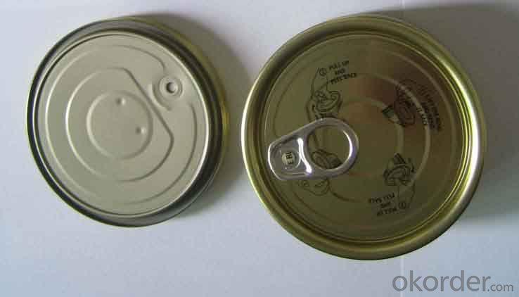 Tinplate Can Lid 401#, Sardine Tuna Fish Usage,Top Quality