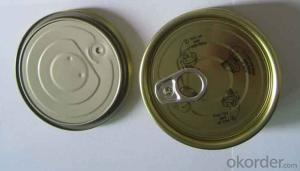 Tinplate Can Lid 401#, Sardine Tuna Fish Usage,Top Quality