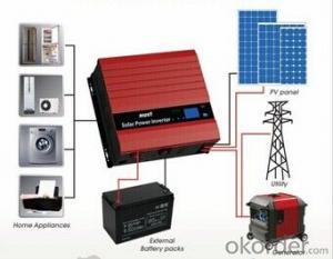 Solar Inverter MPPT Solar Charge Controller 1-4KVA