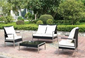 Outdoor Furniture New Style Modern Rattan Wicker Sofa Sets