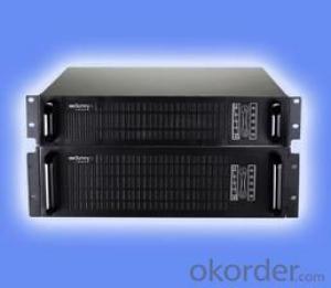 Online UPS, CE certificate 19 inch rack-mount