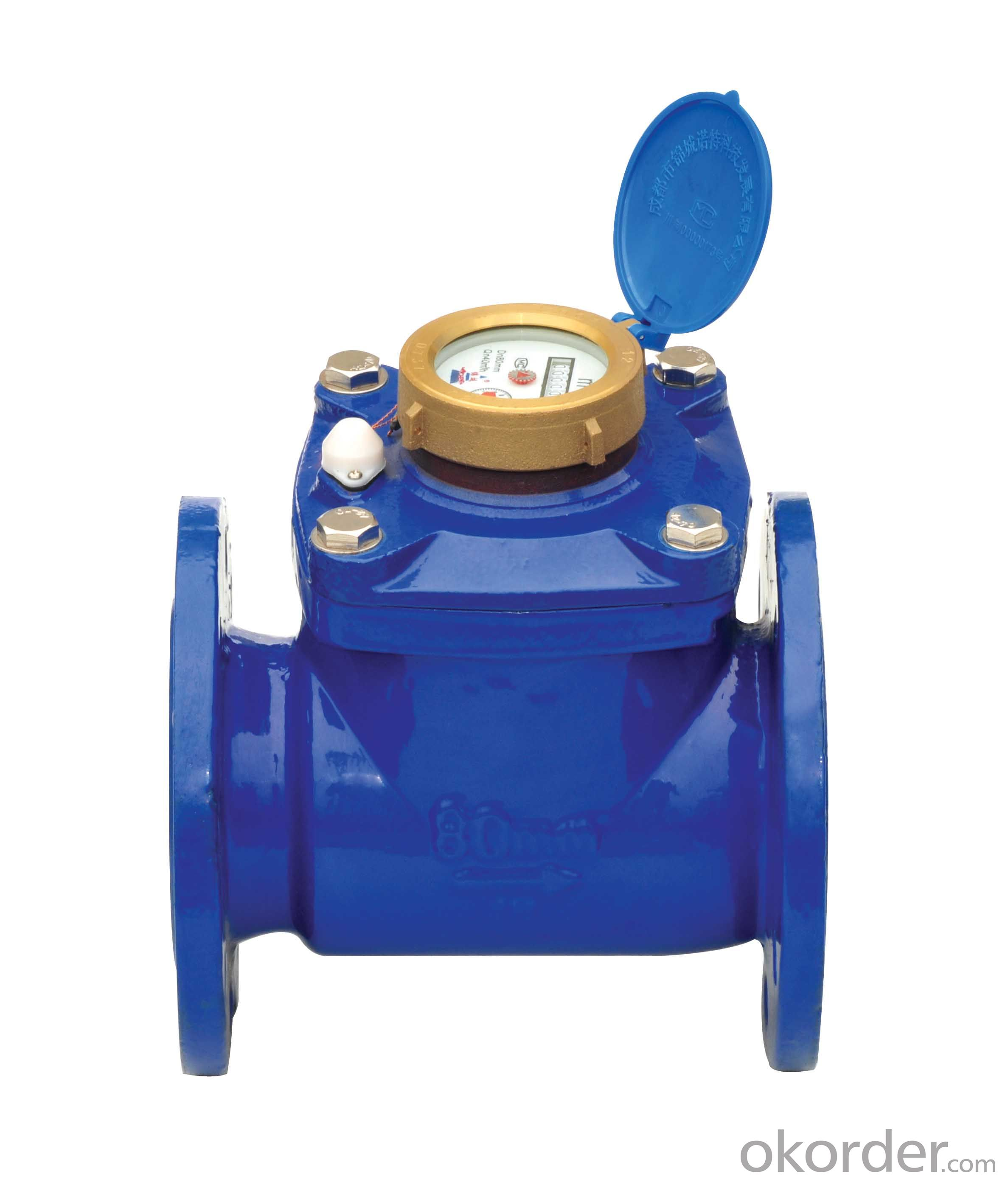 Water Meter with Single Jet Vane Wheel Dry Dial T50 DN15