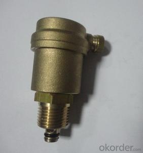 Air Vent Valve with High Quality Standard Control Brass Automatic