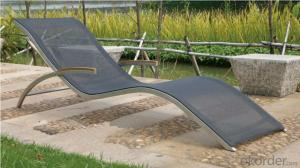 Textilene Cheap Lounger Metal Beds Manufacturer