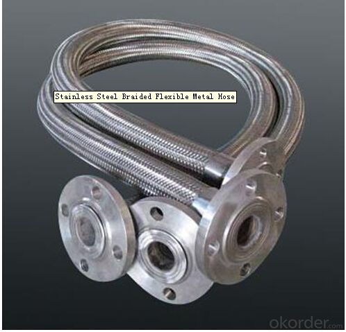 Metal Braided Hose with Flexible Material